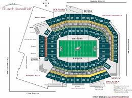 Philadelphia Eagles Seating Chart Amazing As Well As Stunning Philadelphia Eagles Seating