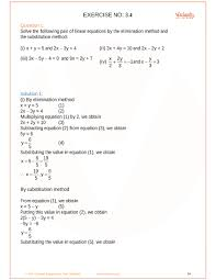 ncert solutions for class 10 maths chapter 3 pair of linear equations in two variables ex 3 1 exercise 3 1
