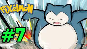 ✔️SNORLAX ĐÁNH BẠI PKM HUYỀN THOẠI - Minecraft Pixelmon pe #7 - Pokemon Đại  Chiến - YouTube