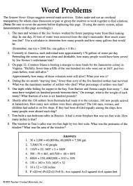 Worksheet #612792: Multiplication and Division Word Problems ...