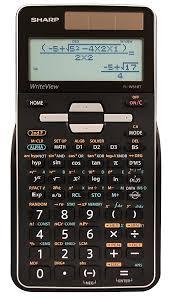 sharp el w516tbsl calculator review