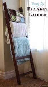 easy 5 blanket ladder materials 2