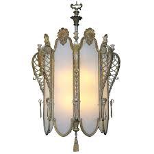 1930s bronze art deco grand chandelier from an old new york city theater antique chandelierantique lightingmodern