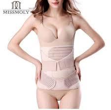 miss moly postpartum slimming underwear women post parto belly bandage tummy control briefs high waist after birth