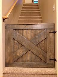 wooden dog gate regarding custom barn door baby from the pink moose i love this prepare