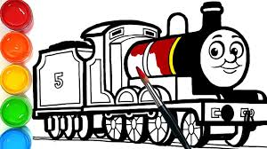 We also know that personalization is in the details, so we offer many different train engine color like white. Draw A Train James The Red Engine Learn Colors Easy Coloring Pages For Kids Youtube