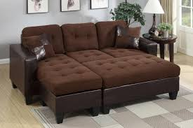 brown leather sectional couches. Wonderful Brown Cantor Brown Leather Sectional Sofa And Ottoman Inside Couches M