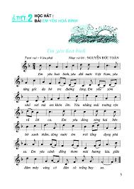Tiết 29 Ôn tập bài hát: Thiếu nhi thế giới liên hoan. Tập đọc nhạc: