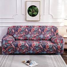 bohemian paisley flower sofa cover in