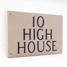 limestone house signs portland stone