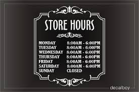 Hours Of Operation Template Free Store Hours Clipart Great Free Clipart Silhouette Coloring Pages