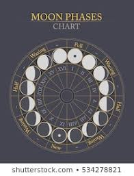 Moon Chart Moon Phases Images Stock Photos Vectors Shutterstock