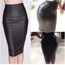 skirt black pencil skirt leather look long pencil skirt high waisted pencil skirtt leather skirt pencil