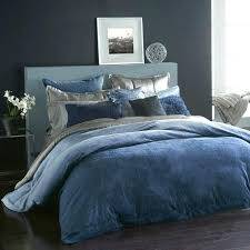 ocean jacquard full queen duvet cover blue bedding donna karan tidal collection