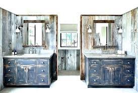 distressed wood bathroom vanity black rustic country with v bathroom vanities with tops rustic distressed