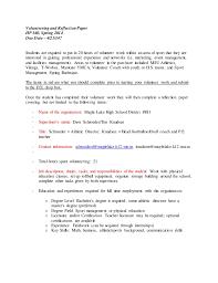 Internship Reflection Essay Serpto Carpentersdaughter Co