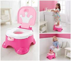 fisher pink princess stepstool potty 10 55 t