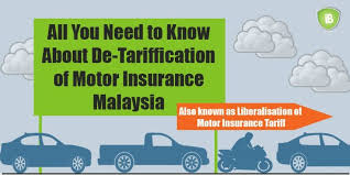 all you need to know about de tariffication of motor insurance in malaysia infographic