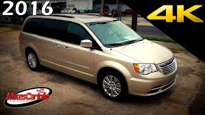 2018 chrysler town and country minivan. perfect chrysler 2016 chrysler town and country touring l  ultimate indepth look in 4k  youtube inside 2018 chrysler town country minivan