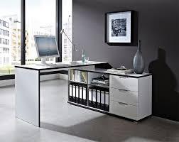 small corner office desk white