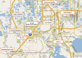the earl of pinewood's estate 5 bedroom orlando vacation rental Map Of Orlando Area map to walt disney world and other central florida attractions map of orlando area zip codes