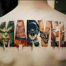 This Sweet Tattoo Marvel