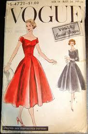 Vogue Vintage Dress Patterns