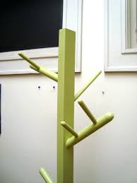 office coat tree. Inspiring Interior Standing Green Wooden Coat Rack With Branches Hook Creative Ideas Of Office Tree T