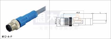m12 4pin d code phoenix contact profinet cable connector buy m12 m12 4pin d code phoenix contact profinet cable connector