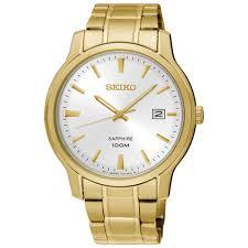 seiko 41mm men s analog dress watch gold silver mens watches seiko 41mm men s analog dress watch gold silver
