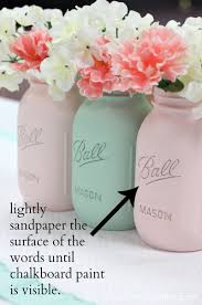 How To Decorate Mason Jars How To Paint Mason Jars Love of Family Home 33