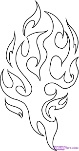 Small Picture Fire Flames Coloring Pages leather Pinterest Stenciling