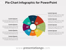 Powerpoint Pie Chart Animation Pie Chart Infographic For Powerpoint Presentationgo Com