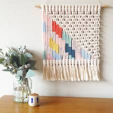 view in gallery woven wall hanging from kate and feather