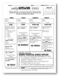 Weekly Homework Weekly Homework Science With Mrs Barton