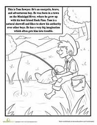 88b4694a4d189aa4d7588fac99c24f1a tom sawyer party missouri town understanding dialogue tom sawyer classic, reading on idiom worksheets 4th grade