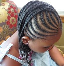 long braided natural hairstyles for kids
