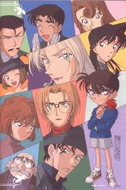 Gosho Aoyama TMS Entertainment Detective Conan Shuichi Akai Ran Mouri | Detective  conan wallpapers, Conan, Manga detective conan