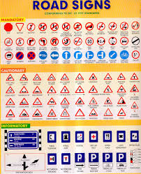 Road Signs Chart India Driving Conditions In India Monsafety