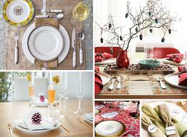 red and white table decorations. Buffet Table Decorating Ideas For Special Occasion : White Red Vase Golden Fork Green Napkin And Decorations