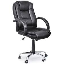luxury leather office chair. executive high back pu leather black color office chair 19 amazoncouk products luxury