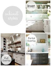 modern full overlay cabinets. partial overlay: drawers and doors partially cover the cabinet box leaving part of face exposed. modern full overlay cabinets y