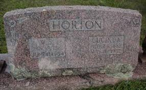 HORTON, LUCINDA - Searcy County, Arkansas | LUCINDA HORTON - Arkansas  Gravestone Photos