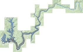 West Virginia Depth Chart Summersville Lake Fishing Map Us_hh_wv_01553142