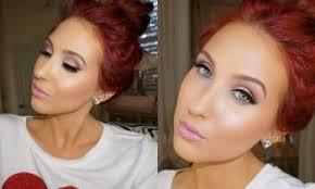 makeup valentines day makeup tutorial feminine glowing jaclyn hill