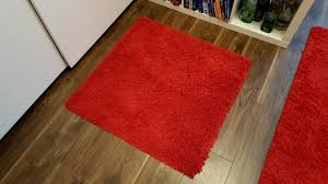 small rug ikea hampen red in islington london gumtree for red rug ikea