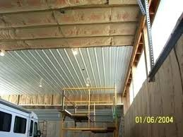 metal garage ceiling material the journal board pertaining to panels sheet ideas