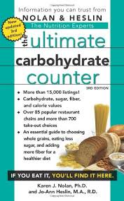 Carb Counter Chart Free The Ultimate Carbohydrate Counter Third Edition