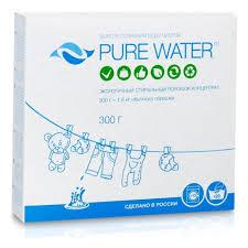 <b>Стиральный порошок PURE WATER</b> универсальный 300 г ...