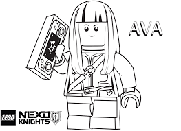 Skill Nexo Knight Coloring Pages For Free To Print Out Fresh Lego